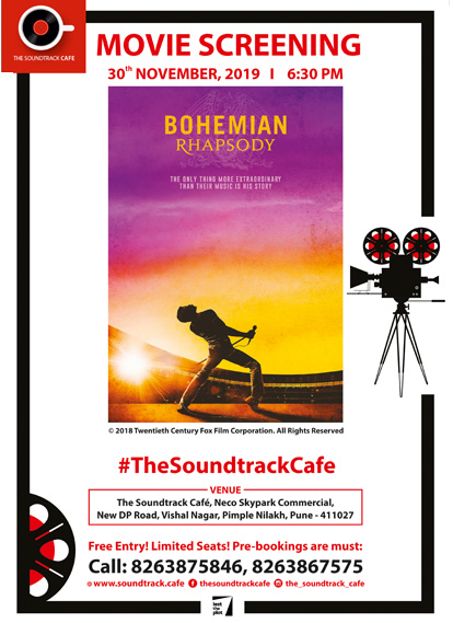 Movie Screening – Bohemian Rhaspody